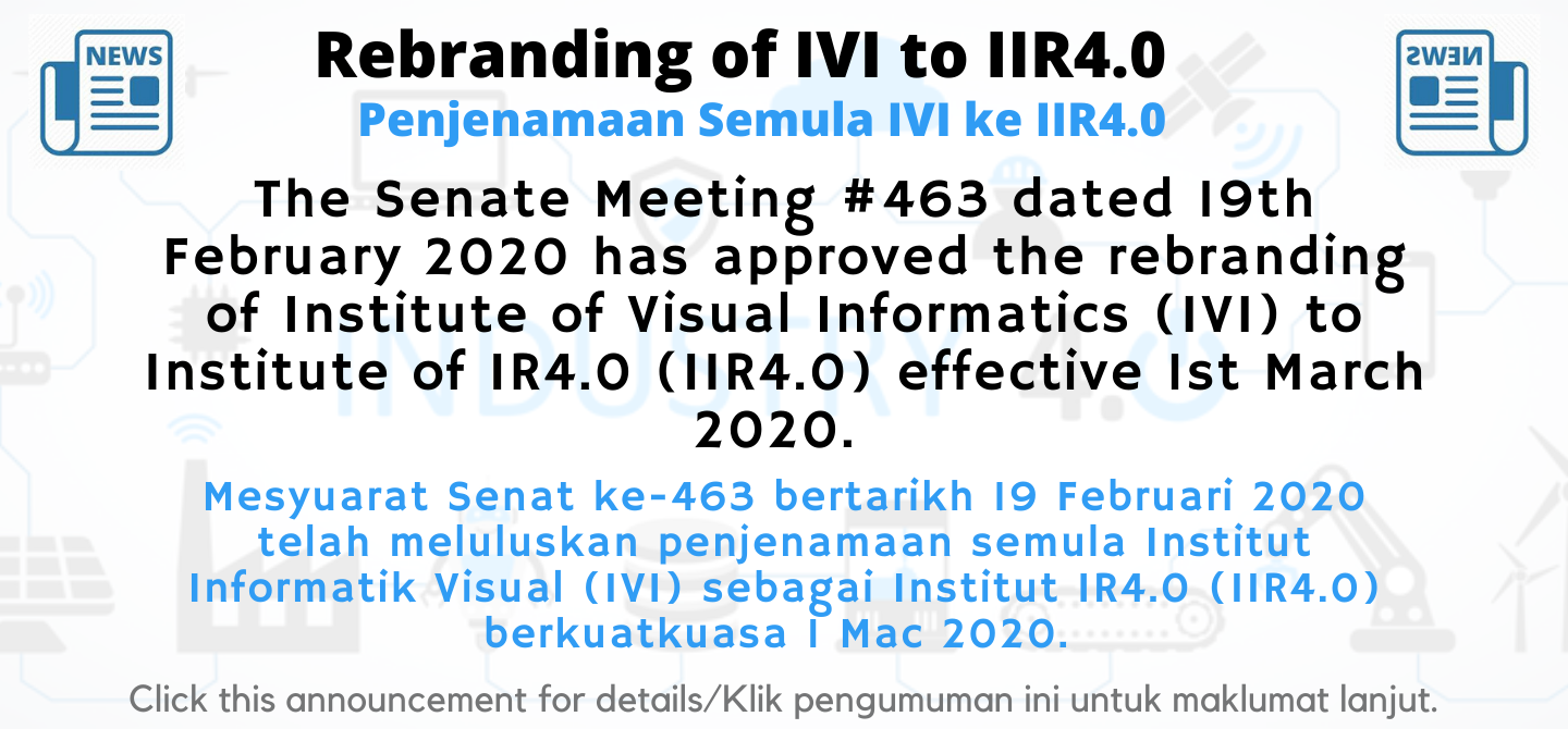 Rebranding of IVI to IIR4.0