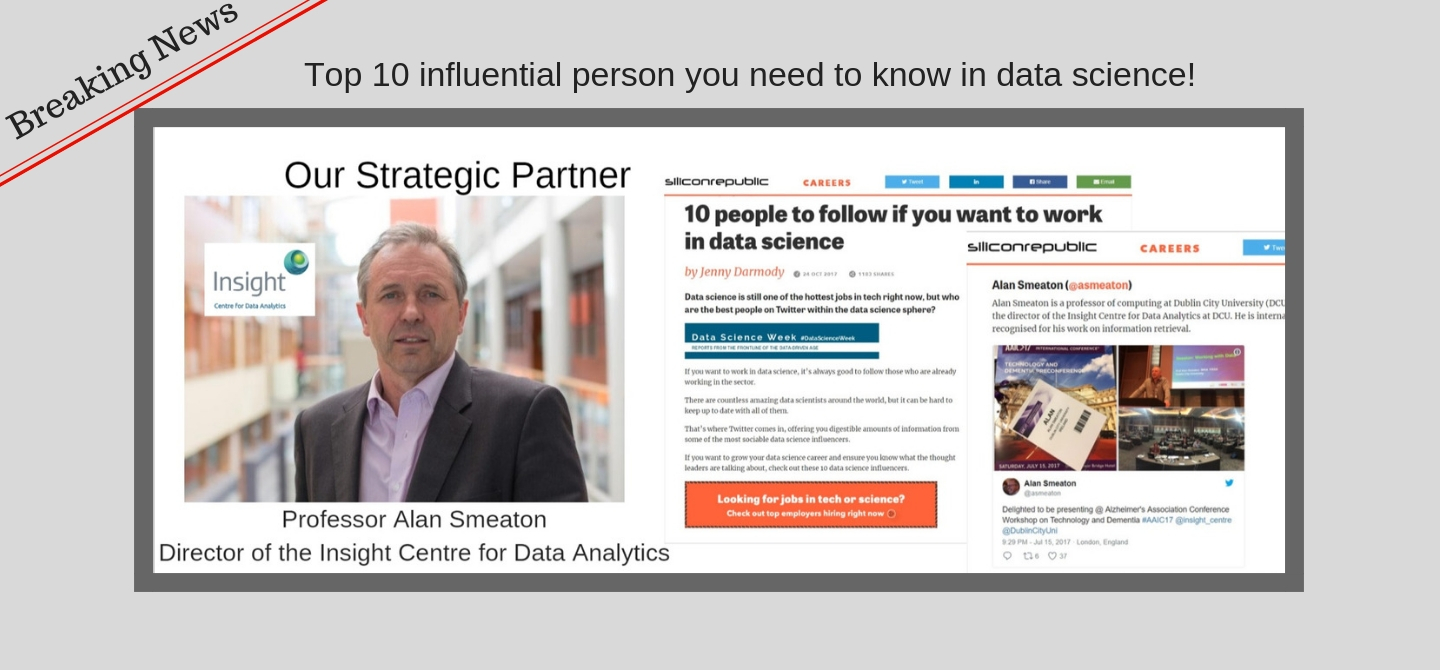 Top influential person in Big Data